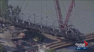 Calgary's historic 12 Street 'Zoo' bridge finally removed