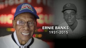 Baseball hall of famer Ernie Banks dies at 83