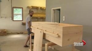 Fredericton small business offering environmentally friendly casket alternative