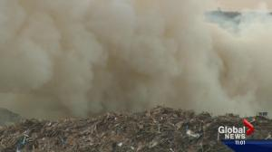 Air quality advisory issued for Edmonton because of waste facility fire