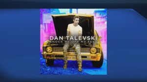 Singer Dan Talevski performs 'Knock Me Off My Feet'