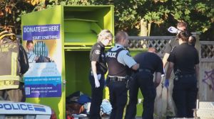 Man found dead in Surrey clothing donation bin