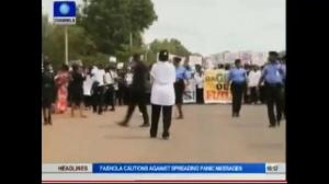 Raw video: Protests across Nigeria call for release of kidnapped girls