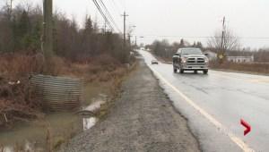 Hammonds Plains Road flooding