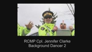Cop Light Bling – Nova Scotia RCMP