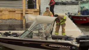 Boater missing after falling overboard in Lac Saint-Louis