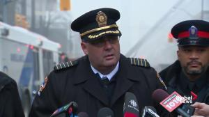 'We're making progress, but a ways to go yet': Toronto Fire on Yonge-St. Clair blaze