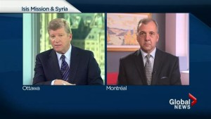 Canada's ISIS mission as Russia bombs Syria