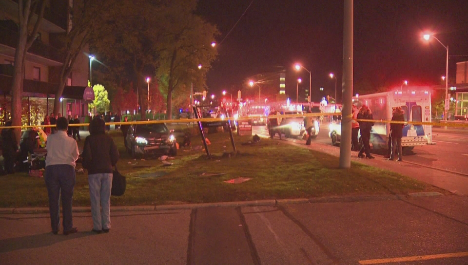Trick-or-treating Toronto teens seriously injured after being hit by car