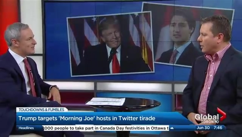 Some Republicans Don't Approve Of Trump's Tweets Mocking MSNBC Anchors