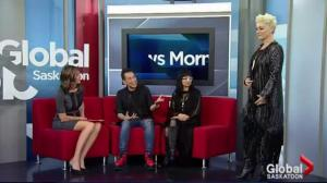 Fashion designer Simon Chang visits Saskatoon