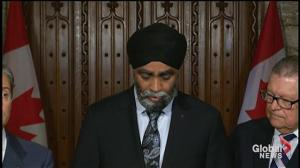 Harjit Sajjan provides update on military response to Quebec flooding