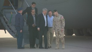 PM Harper makes surprise visit to Iraq