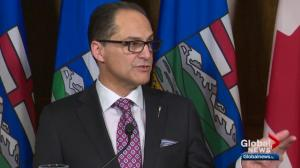 Alberta spends on major infrastructure