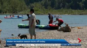 Water recreation safety season kicks off in Calgary