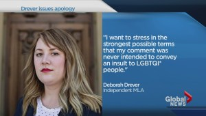 Deborah Drever says attempt at humour backfired
