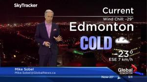 Edmonton Weather Forecast: Dec. 9, 2016