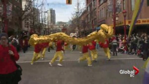 Chinese New Year Parade hits downtown Vancouver