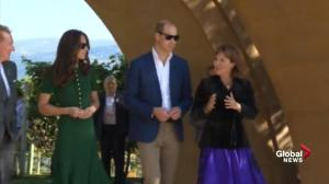 Prince William and Kate shown around Mission Hill Family Estate Winery in B.C. by premier