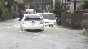 Thousands urged to evacuate as typhoon batters Japan