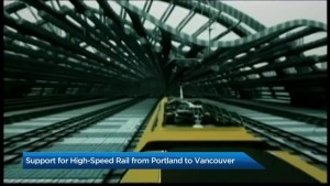 High-speed rail between Seattle and Vancouver?