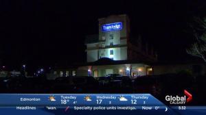 Calgary hotel evacuation