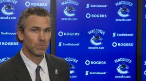 Canucks President Trevor Linden describes his last visit with Pat Quinn