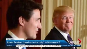 Is it time for Justin Trudeau to really stand up to Donald Trump?