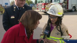 Fire Chief for a Day: Sophia Alaya