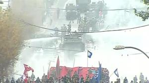 Protests erupt in Chile due to constitutional reform