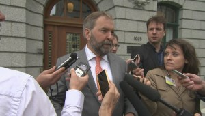 Mulcair says he had 'no intention' of running for Conservatives