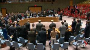 UN Security Council holds moment of silence for Manchester attack victims