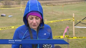 Runners compete in 50-km run in Fort Qu'Appelle, Sask.