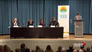 Mayoral candidates spar over making Saskatoon a 'liveable' city