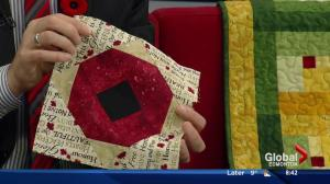 Quilts of Valour supports injured Canadian Armed Forces members