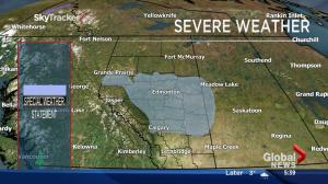 Snow, freezing rain forecast prompts special weather statement for much of Alberta