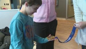 Young Winnipeg curler gets golden prize