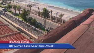 B.C. woman still in shock after Nice attack