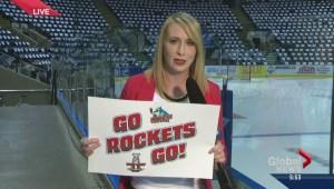 Rockets back in Kelowna for game 3 of WHL final