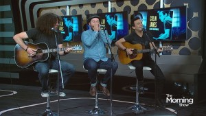 Juno winner Colin James performs in studio