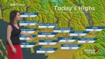 BC Evening Weather Forecast: Apr 11
