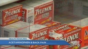 Acetaminophen & back pain