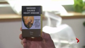 Federal government moving forward on plain packaging for cigarettes
