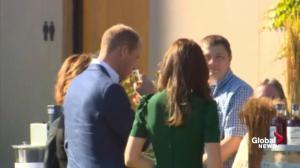 Prince William and Kate enjoy a sip of wine at the Mission Hill winery in B.C.
