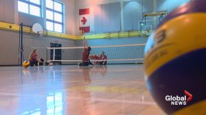 Paralympic sitting volleyball helps athletes heal through friendship, competition