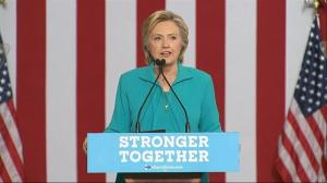 Hillary Clinton slams Donald Trump for campaigning with Nigel Farage