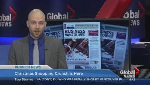 BIV: Christmas shopping crunch time