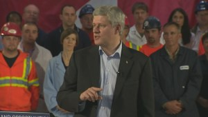 PM Harper announces $5.8 billion for infrastructure