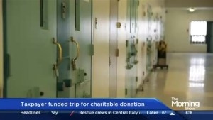 Canada's federal prison system offers employees taxpayer funded incentives to raise money for charity