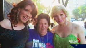 Edmonton woman has volunteered at the Edmonton fringe festival for 35 years